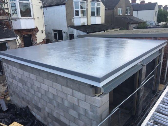 How to build a Fibreglass GRP Flat Roof - Strandek Bristol